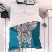 aztec-elephant-monika-strigel-linge-de-lit
