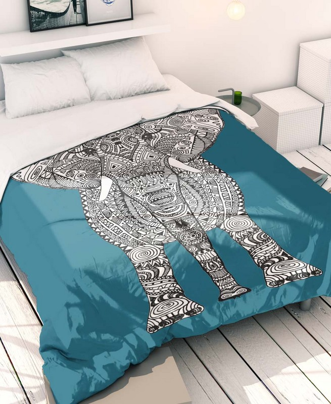 parure de lit elephant azteque monika strigel theartofindiscipline art store. Black Bedroom Furniture Sets. Home Design Ideas