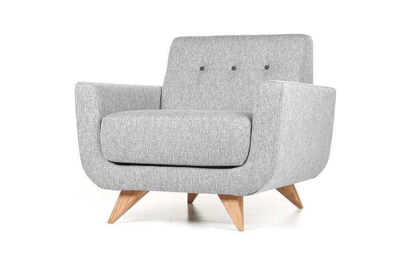 fauteuil de salon design bond tissu lauritzon gris meuble sodezign 1 Résultat Supérieur 50 Bon Marché Fauteuil De Salon Design Image 2017 Hdj5