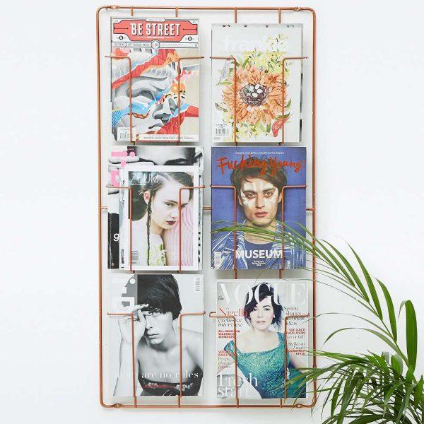porte-magazine-vintage-cuivre
