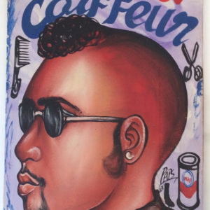 Enseigne barbier africain 1