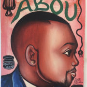 Tableau Barber Shop enseigne barbier Afrique 1