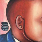 Tableau Barber Shop enseigne barbier Afrique 3
