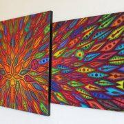 Triptyque contemporain - Diffusion. 3