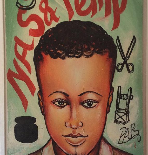 tableau barbier enseigne barber shop afrique ouest 1