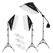 Excelvan Pro Kit Éclairage LED Photo Studio
