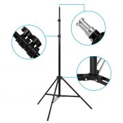 Excelvan Pro Kit Éclairage LED Photo Studio 4