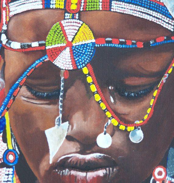 Jeune femme Masaï 4