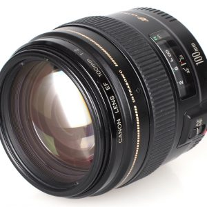 Objectif compact grande ouverture Canon EF 100mm f:2 USM
