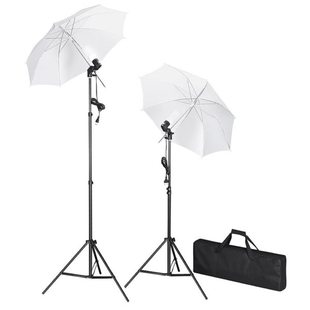 kit de studio photo avec lampes