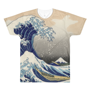 Tee shirt All Over Sublimation – Woodblock – Unisexe