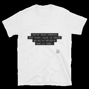 T-shirt CETTE 3EME VERSION EST BIEN MAIS