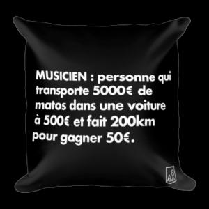 Coussin Définition Musicien