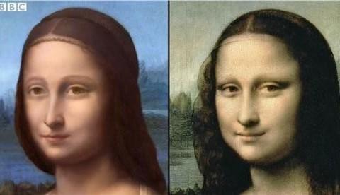 autre visage portrait la joconde femme